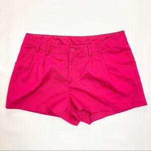 Fuschia Pink Shorts